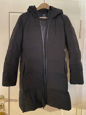 Uniqlo Abrigo de plumón negro