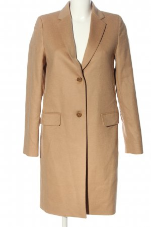 Uniqlo Wool Coat nude casual look