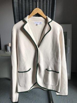 UNIQLO x Ines de la Fressange Jersey Blazer blanco puro-verde oscuro