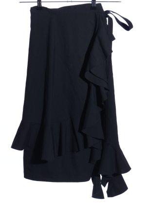 UNIQLO x Ines de la Fressange Wraparound Skirt black elegant