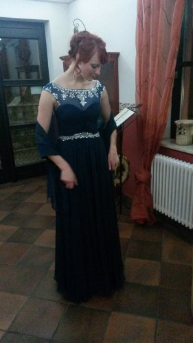 Unique Abendkleid