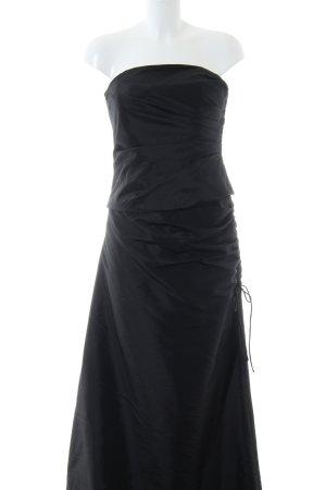 Unique Abendkleid schwarz Elegant