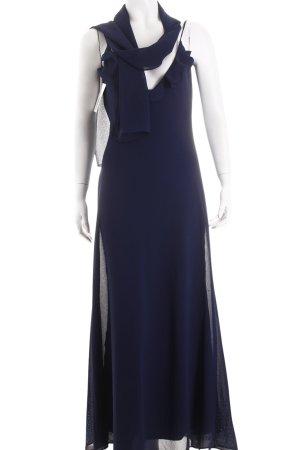 Unique Abendkleid dunkelblau Elegant