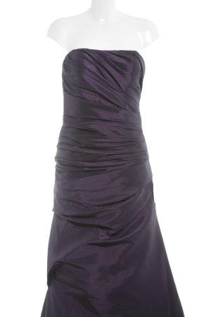 Unique Abendkleid dunkelviolett Elegant