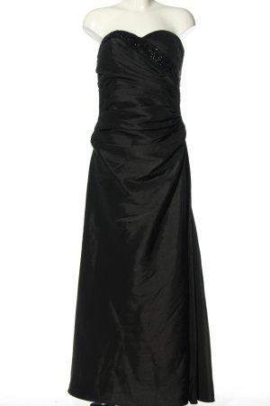 Unique Ballkleid schwarz Elegant