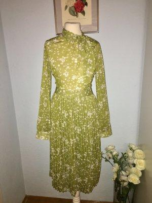 Unique21 Wunderbares plissiertes grünes Kleid