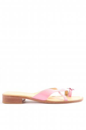 Unisa Toe-Post sandals pink casual look