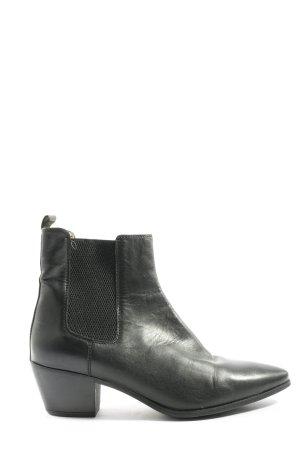 Unisa Chelsea laarzen zwart casual uitstraling