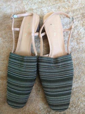 Unisa Damen Schuhe Stoff Grün