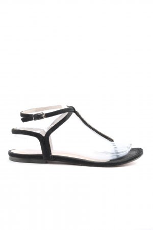 Unisa Dianette sandalen zwart casual uitstraling