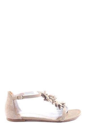Unisa Dianette-Sandalen wollweiß Casual-Look