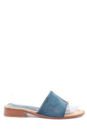 Unisa Sandalo Dianette blu-color carne stile casual