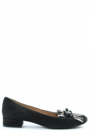 Unisa Foldable Ballet Flats black-silver-colored casual look