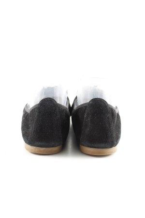 Unisa faltbare Ballerinas schwarz Casual-Look