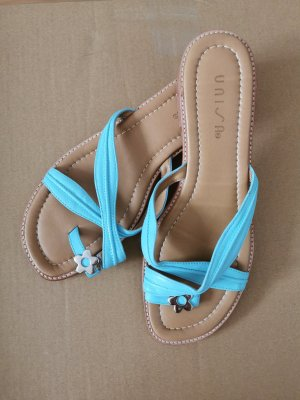 Unisa Sandales à lanière bleu clair