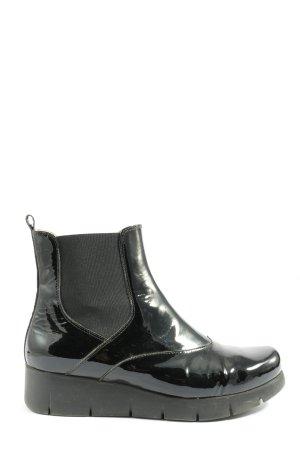 Unisa Wellington laarzen zwart casual uitstraling