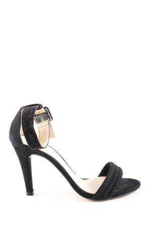 Unisa High Heel Sandaletten schwarz Casual-Look