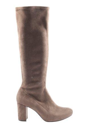 Unisa High Heel Boots brown casual look