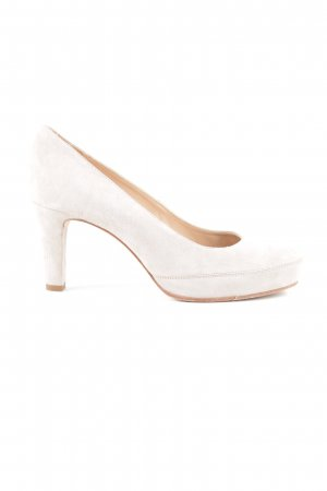 Unisa High Heels wollweiß Casual-Look