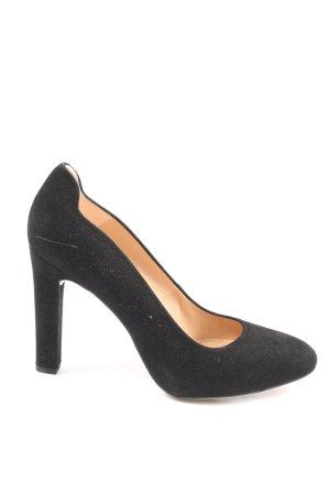 Unisa High Heels schwarz Casual-Look