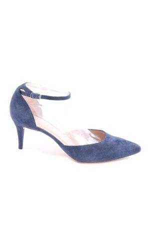 Unisa High Heels blau Business-Look