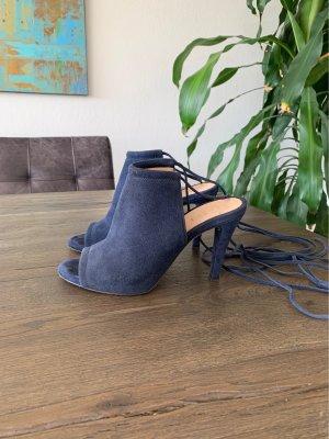 Unisa High Heels, Gr. 37, Leder, blau!