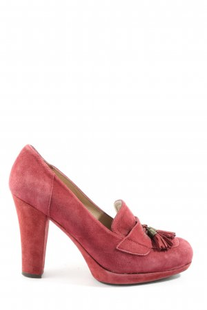 Unisa Hochfront-Pumps rot Casual-Look