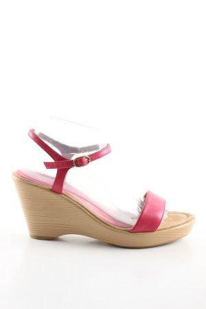 Unisa Keil-Pumps pink-creme Casual-Look