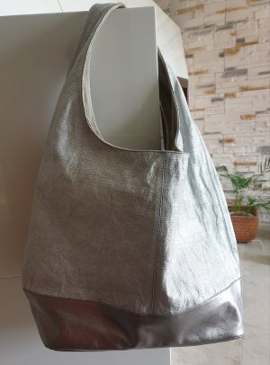 Unisa Pouch Bag silver-colored