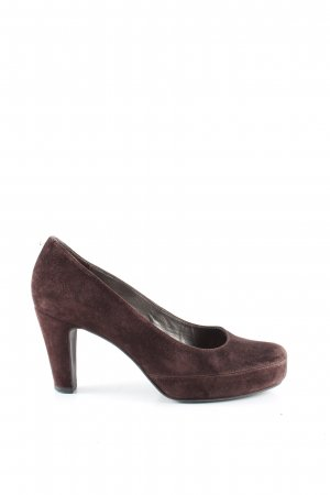 Unisa Mary Jane Pumps braun Casual-Look