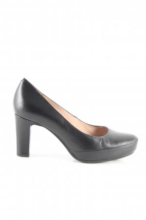 Unisa Plateau-Pumps schwarz Business-Look