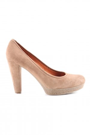 Unisa Plateau-Pumps creme Business-Look
