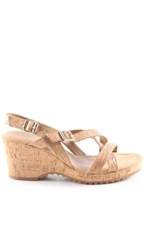 Unisa Platform High-Heeled Sandal natural white casual look