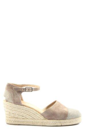 Unisa Sandales à talons hauts et plateforme gris clair-rose chair