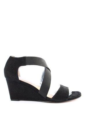Unisa Platform High-Heeled Sandal black casual look