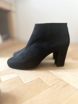 Unisa Botas de tobillo negro Cuero