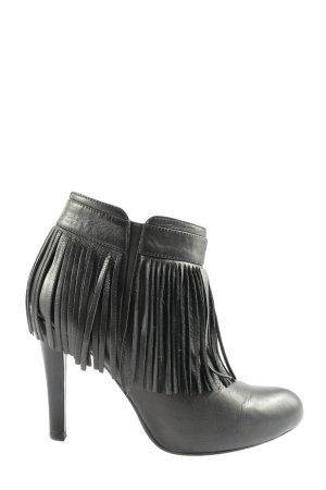Unisa Reißverschluss-Stiefeletten schwarz klassischer Stil