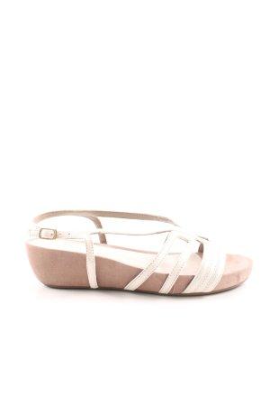Unisa Riemchen-Sandalen wollweiß Casual-Look