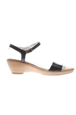Unisa Riemchen-Sandaletten schwarz Casual-Look