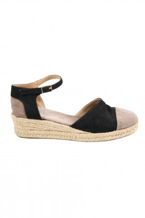 Unisa Strapped High-Heeled Sandals black-natural white casual look