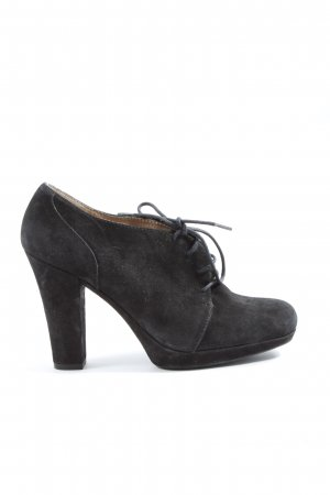 Unisa Lace Shoes black casual look