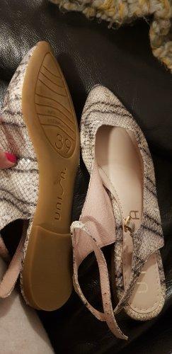 UNISA Schuhe 39 sehr schön sommer sling leder