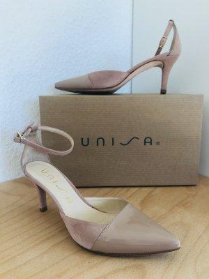 Unisa Strapped pumps dusky pink leather