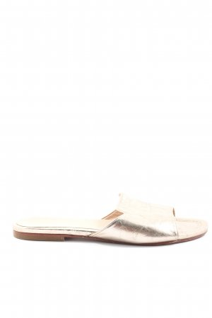 Unisa Beach Sandals gold-colored casual look