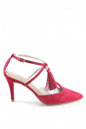 Unisa Zapatos de tacón con barra en T rosa look casual