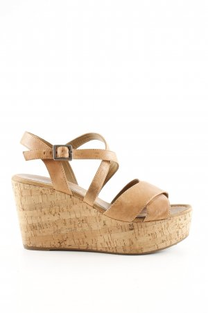 Unisa Wedges Sandaletten nude Casual-Look