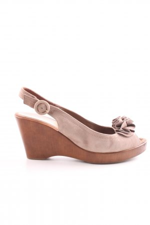 Unisa Wedges Sandaletten pink Casual-Look