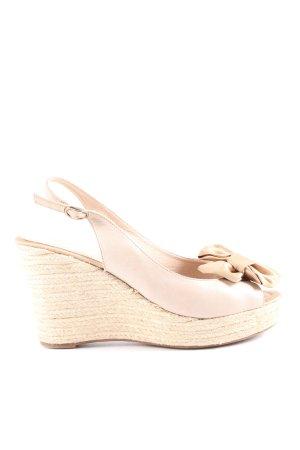 Unisa Wedges Sandaletten pink Casual-Look