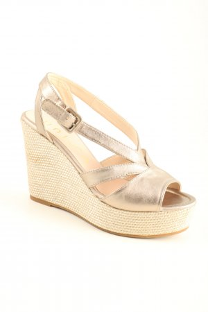 Unisa Wedge Sandals cream casual look