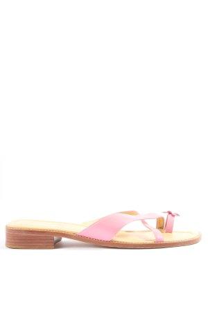 Unisa Zehentrenner-Sandalen pink Casual-Look